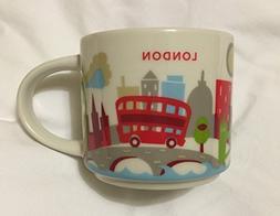 New Starbucks London You are Here Mug Coffee Cup Big Ben Ghe