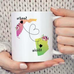 Long Distance Friendship Mug Best Friend Long Distance Gift
