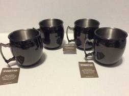 LOT 4 Pier 1 Imports Moscow Mule Mug Gunmetal Copper & Metal