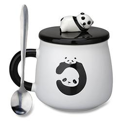 Lovely Cute 3D Panda Gifts for Mom Ceramic Coffee Mug Milk T
