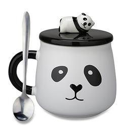 Lovely Cute 3D Panda Gifts for Mom Ceramic Coffee Mug Milk T