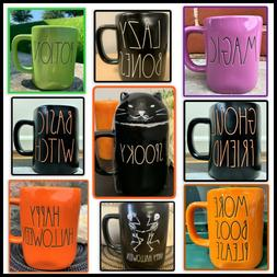 Rae Dunn Magenta Spooky Halloween Coffee Mugs