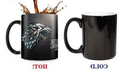 Magic Game of thrones House stark Tea Hot heat sensitive Cha