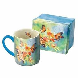 Lang Majestic Monarchs Mug by Susan Winget, 14 oz, Multicolo