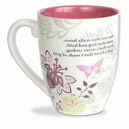 Mark My Words Mimi Floral Butterfly Grandma Coffee Tea Mug,