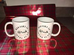 Marshall Field's Coffee Mugs Cups, Set Of Two, NWT, Chicago