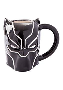 Marvel Black Panther 20 Oz Sculpted Ceramic Mug
