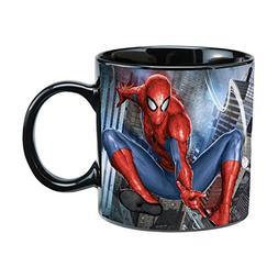 Marvel Spider-Man 20 Oz Ceramic Heat Reactive Mug