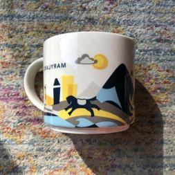 Starbucks Maryland You Are Here City State collection Cup YA
