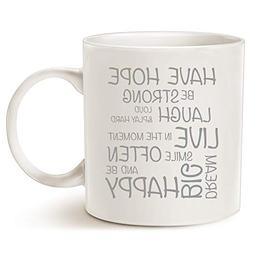 MAUAG Funny Inspirational Coffee Mug Christmas Gifts - Have