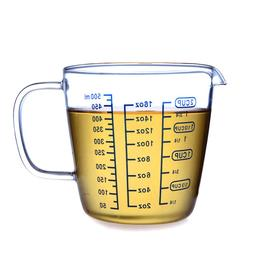 Measuring Milk <font><b>Mug</b></font> Heat-Resistant Glass