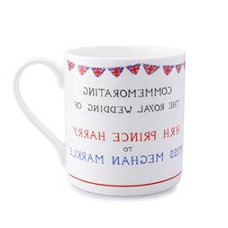Meghan Markle and Prince Harry Wedding Coffee Mug Union Jack