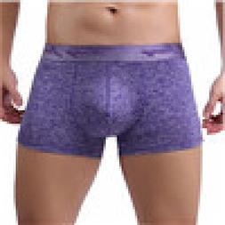 AmyDong Men's Middle Waist Underwear Square Shorts Men's Box