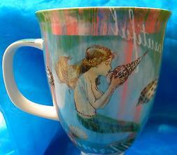 Mermaid Cup Mug Dreams Cape Shore Porcelain Teal 16 Oz NEW