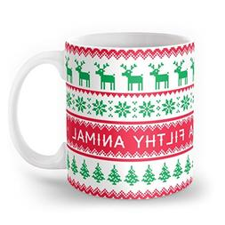 Society6 Merry Christmas Ya Filthy Animal Mug 11 oz