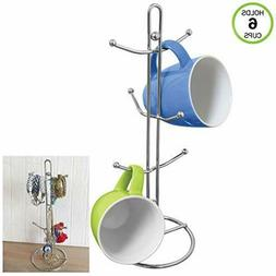 Evelots Metal Cup & Mug Rack Holder, Kitchen Accessories, Ho