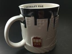 Starbucks Metro San Francisco Relief Mug 2012 Coffee City  C