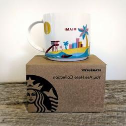 Starbucks Miami, Florida You Are Here Mug, 14 oz