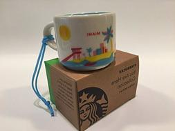 Starbucks Miami You Are Here Collection Ceramic Coffee Mug D