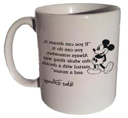 "Mickey Mouse Disney ""If You Can Dream It, You Can Do It"" Quo"