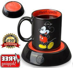 Disney Mickey Mouse Mug Coffee Warmer Tea Milk Cup Heater Ho