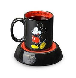 Disney Mickey Mouse Mug Warmer 10 oz Ceramic Mug Included