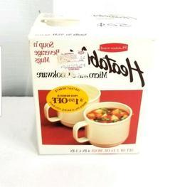 RUBBERMAID Microwave Heatables Cookware Mugs Cups 9520 SET o