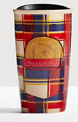MINNESOTA Traveler 12oz Local Collection Double Wall Ceramic
