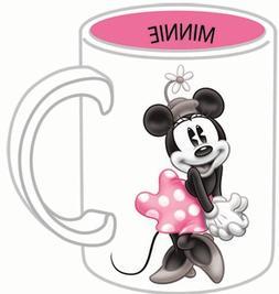 Disney Minnie Mouse 3d Tonal Relief 14oz. Ceramic Mug