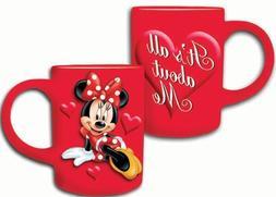 Disney Minnie Mouse All About Me 14oz. Ceramic Mug