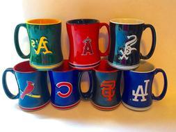 MLB Sculpted Relief Coffee Mug/Tea Microwave Cup