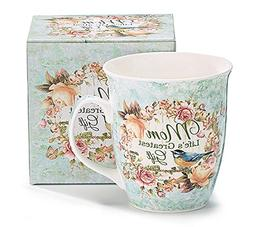 Mom Life's Greatest Gift Porcelain Coffee Mug