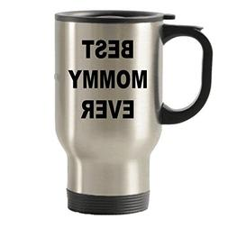 Mommy Coffee Travel Mug - Birthday Ideas - Gift For Bag - Be