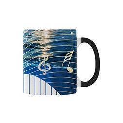 Artsadd Morphing Mug Big surfing ocean wave Music Hot Cold H