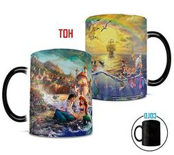 Morphing Mugs Disney Little Mermaid Thomas Kinkade Art Ariel