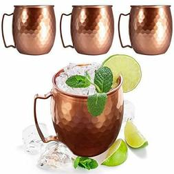 moscow mule copper mugs cups set of