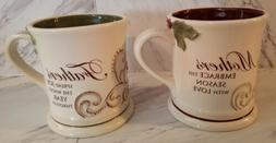 "Grasslands Road ""Mother & Father"" Large Coffee/Tea Mugs.. Ne"