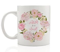 Mother of the Bride Floral Coffee Mug 11 oz Wedding Gift Ide
