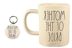 Rae Dunn MOTHER OF THE BRIDE Mug Coffee Cup Gift Set with Co