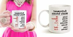 Mothers Day & Fathers Funny Retirement Gag Christmas Gifts F