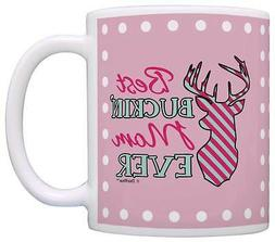 Mothers Day Gift for Mom Best Buckin' Mom Ever Deer Hunting