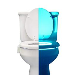 RainBowl Motion Sensor Toilet Night Light - Funny & Unique B