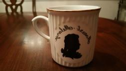 Mozart Melange Meinl Kaffee Coffee Mug Cup Black White Gold