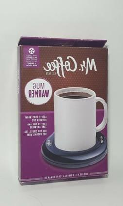 Mr. Coffee Electric Mug Warmer Black Free Shipping Brand New