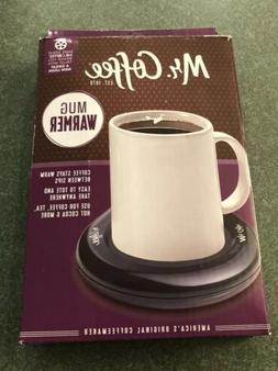 Mr. Coffee Electric Mug Warmer Bowl Heater  MWBLK FAST SHIPP