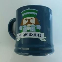 Mug 16 oz Porcelain Crushing it Mug Blue Classic Threshold N