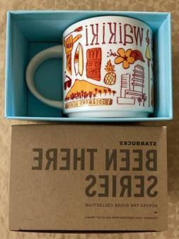 "Starbucks Mug 2018 Waikiki Hawaii ""Been There Series"" 14"