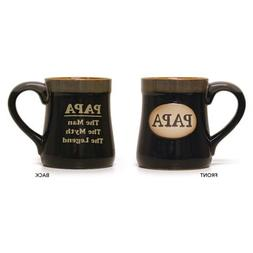 "Mug Gift For Dad XL 18 oz Imprint, "" PAPA, The Man - The Myt"