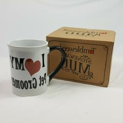 Tumbleweed Mug I Love my Groomer 18 Ounces Gift Boxed