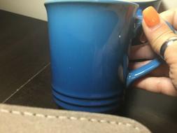 Le Creuset Mug Marseille Blue Set Of 4